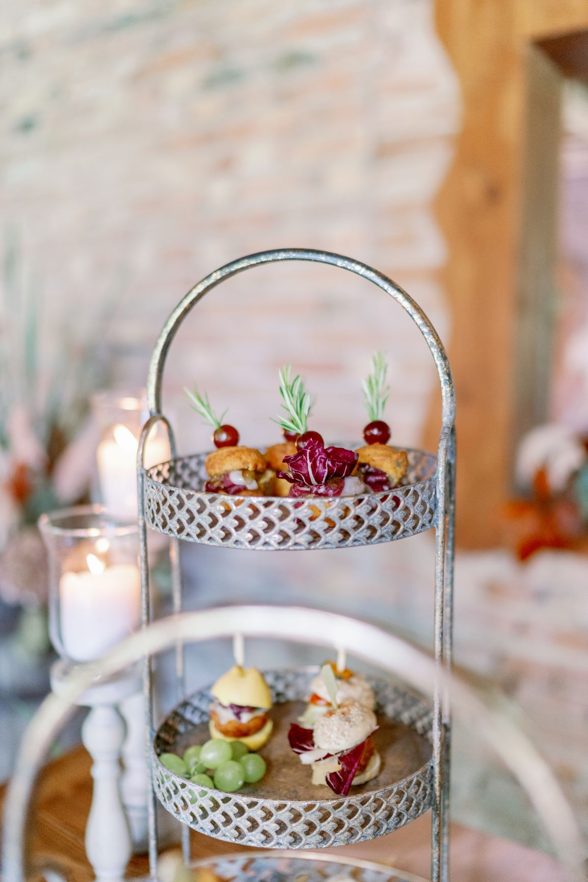 atumn fall wedding food