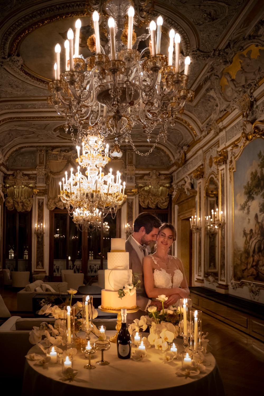 wedding cake matrimonio elegante di lusso venezia canal grande aman
