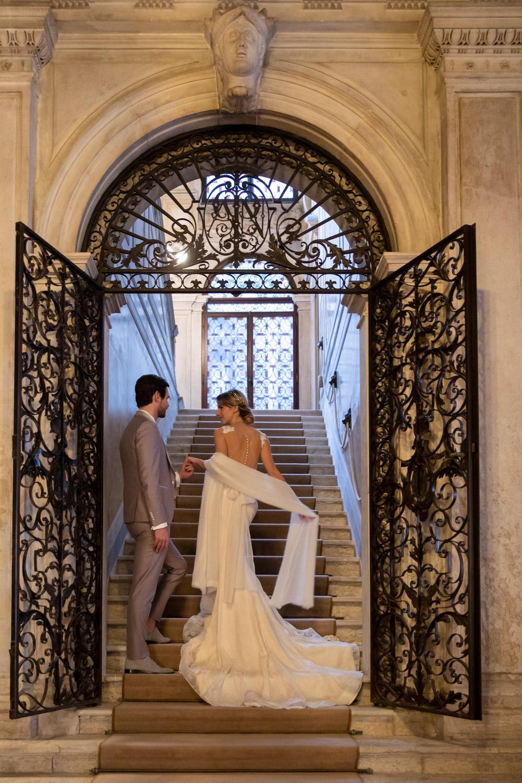 matrimonio lusso venezia aman canal grande